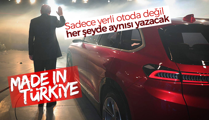 Made in Turkey yerine Made in Türkiye geliyor